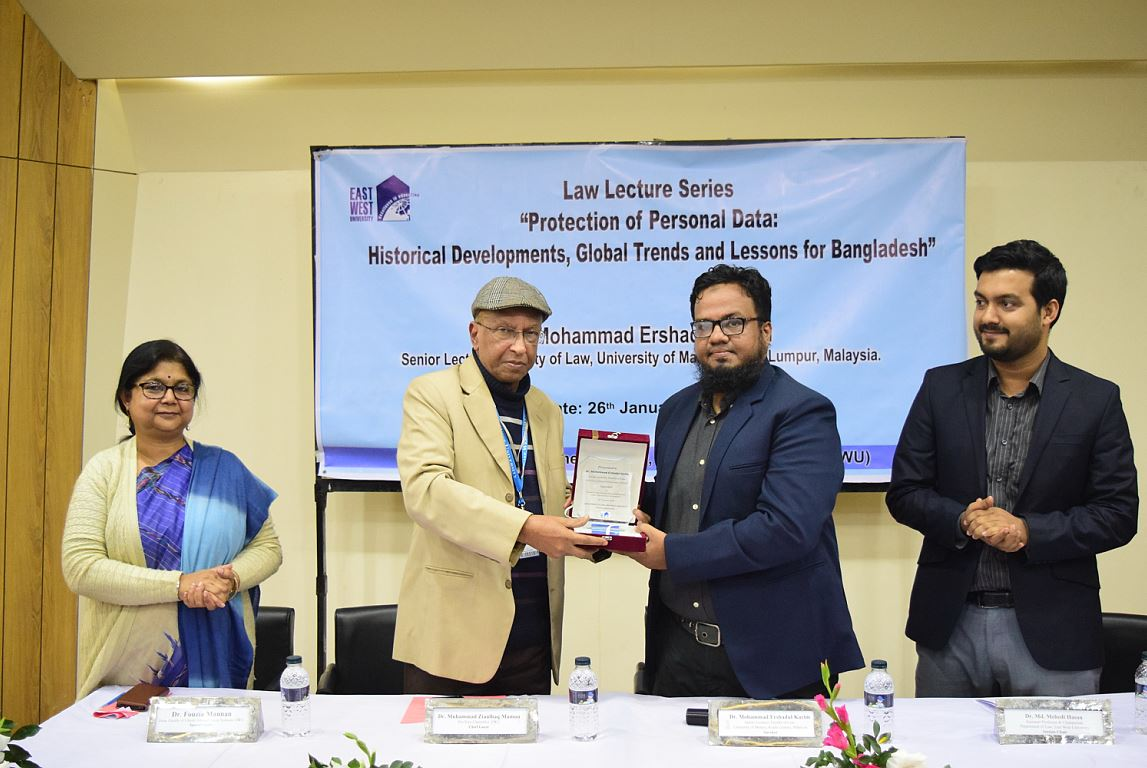 Lecture on Protection of Personal Data held on Eas