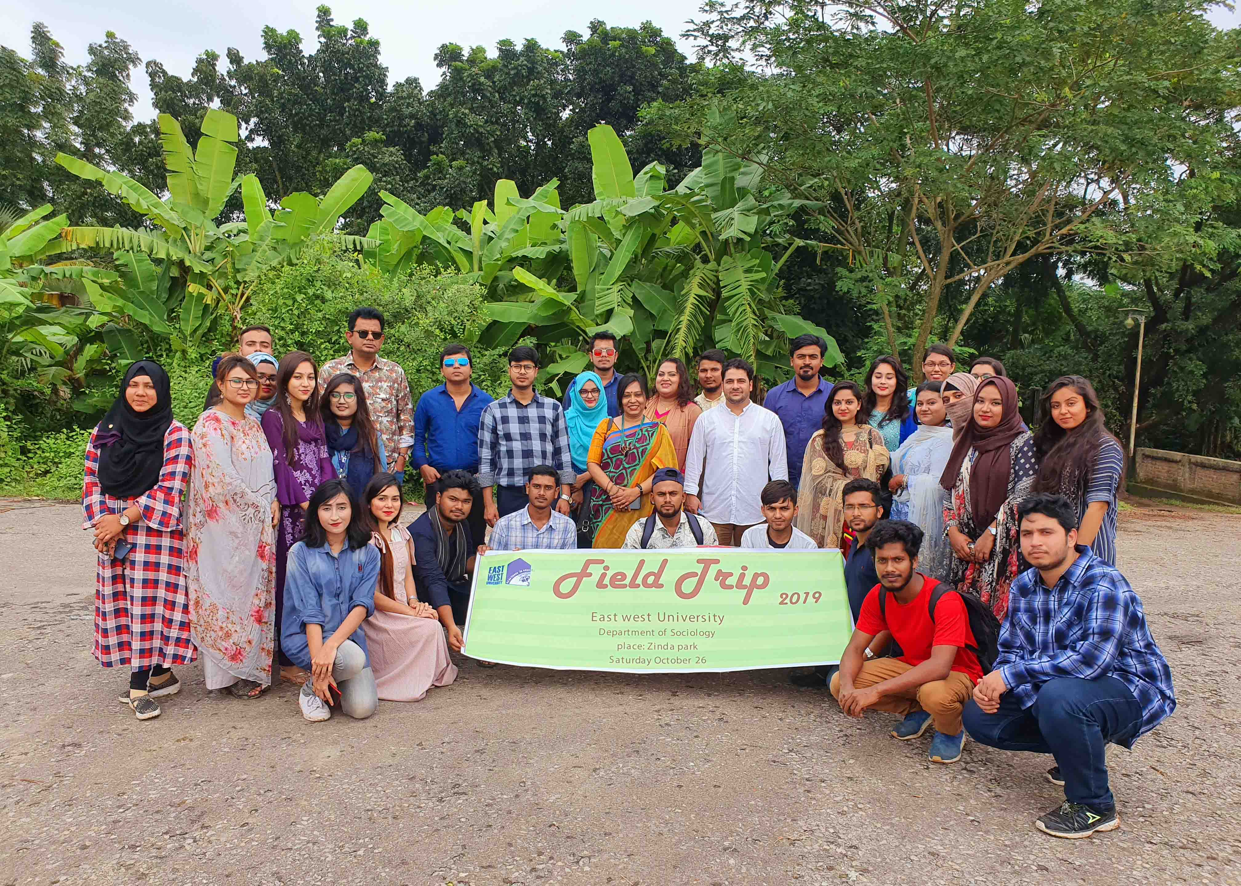 Field Trip at Zinda Park: Sociological Insight fro
