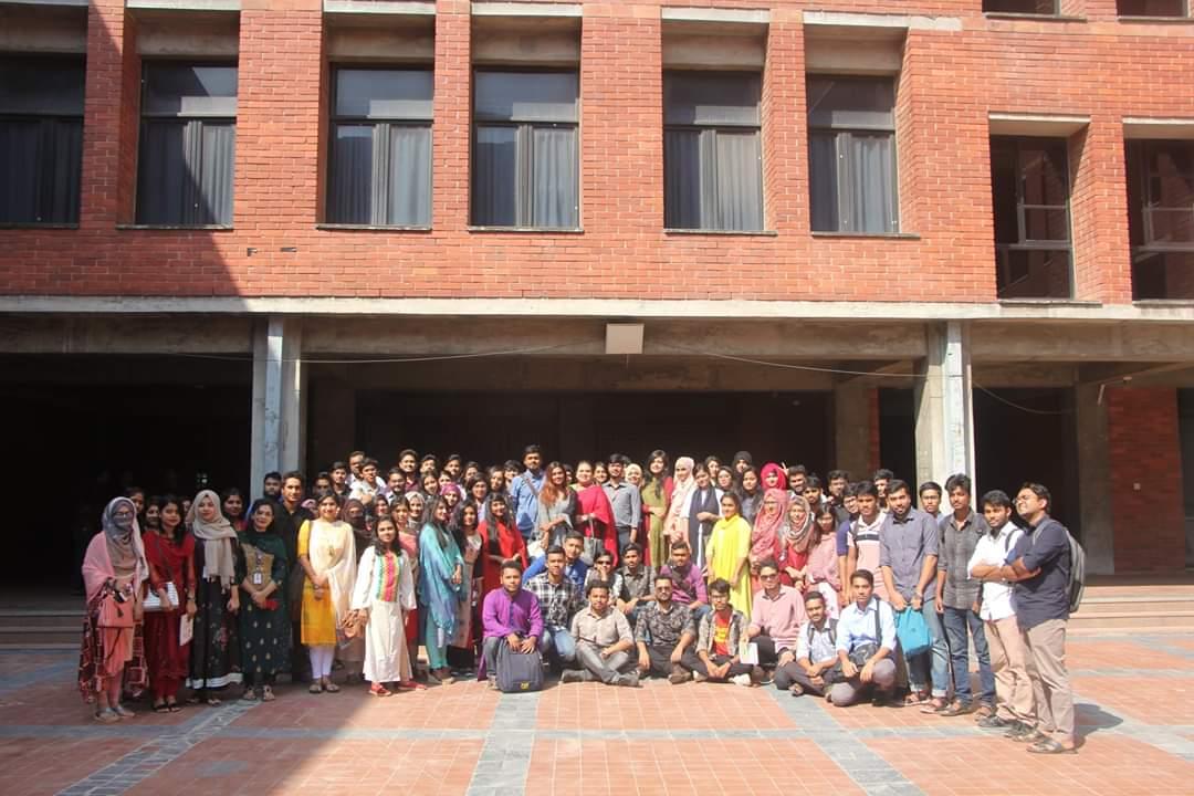 12) Study tour to Liberation War Museum, Agargaon, Dhaka (Fall 2019).